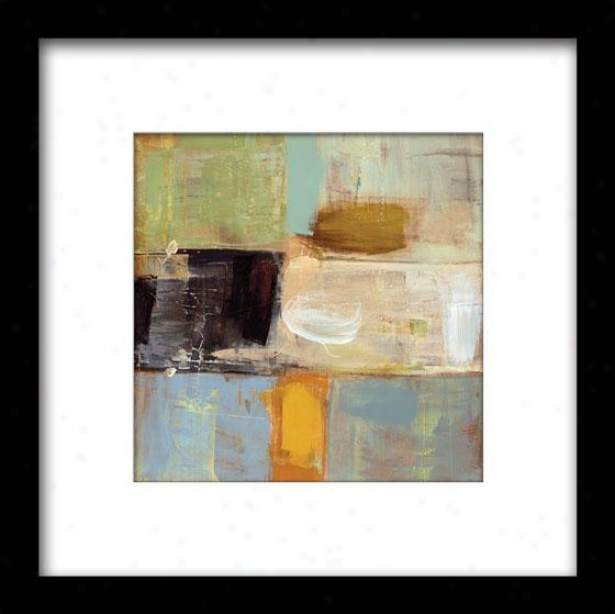 Present Day Ii Framed Wall Art - Ii, Matted Black