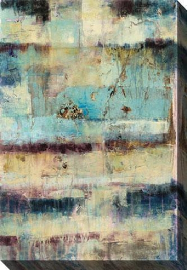 Primary I Canvas Wall Art - I, Blue
