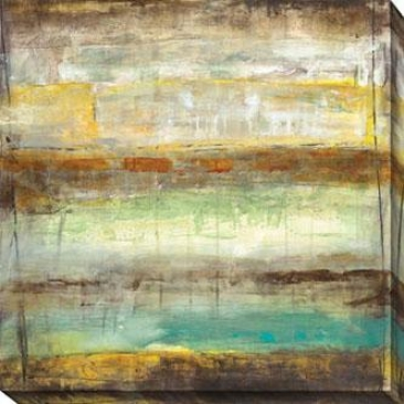 Provoke I Canvas Wall Art - I, Golden