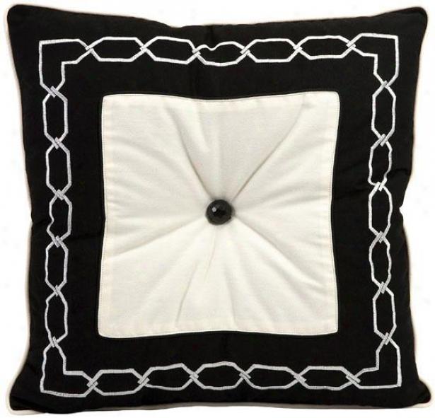 Ramey Pillow - Large, Black