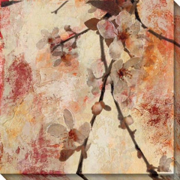 Rapture Iv Canvas Wall Art - Iv, Pink