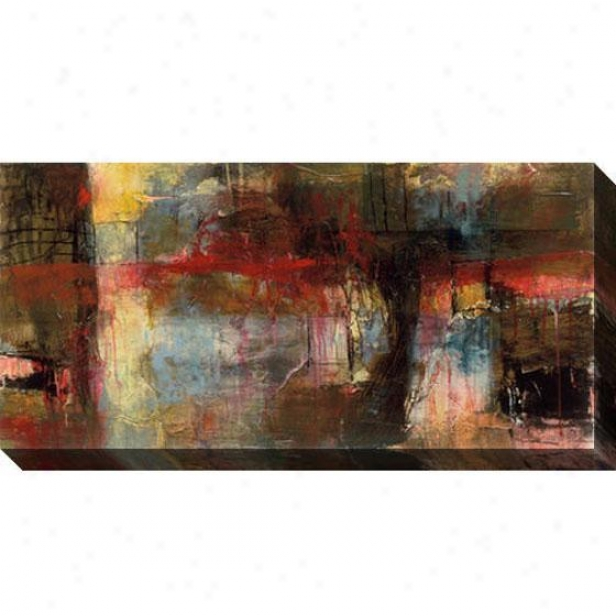 Recapture I Canvas Wall Art - I, Black