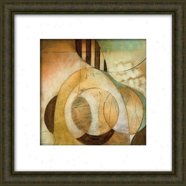 Reveal Ii Framed Wall Art - Ii, Matted Burlwood