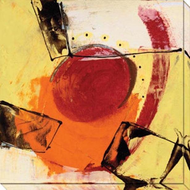 Ripe Grain I Canvas Wall Art - I, Yellow