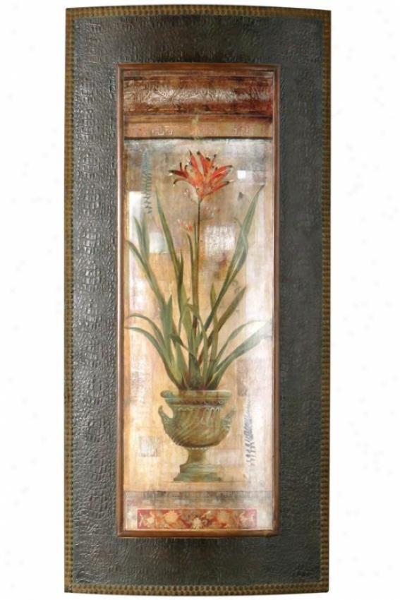 Rojo Botanicals Wall Cunning - I, Ivory