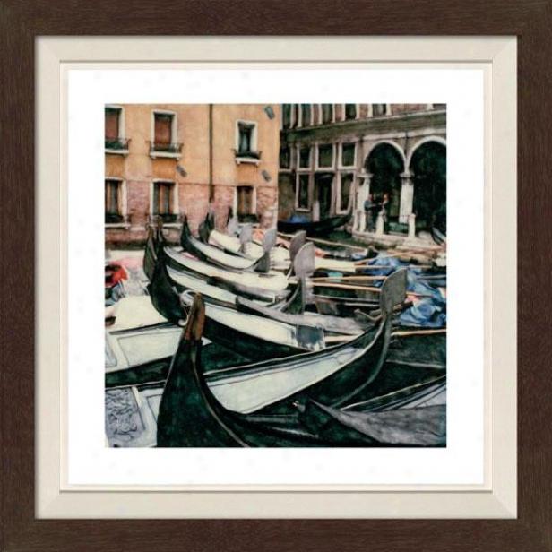 """""""romanza Framed Wall Art - 30""""""""hx30""""""""w, Fltd Espresso"""""""