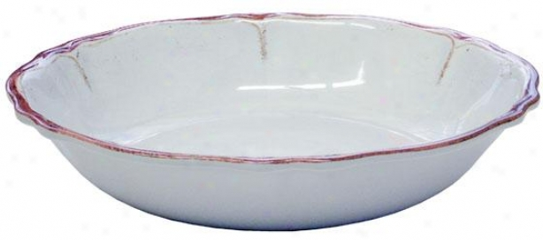 """rustica Serving Bowl - 13.5""""d, Blue"""