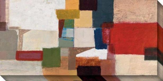 Section Arc Ii Canvas Wall Art - Ii, Multi