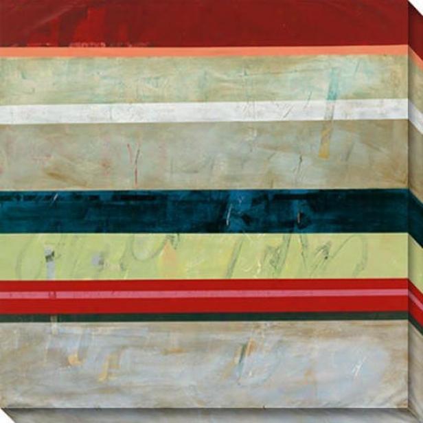 Sentiment Vi Canvas Wall Art - Vi, Multi
