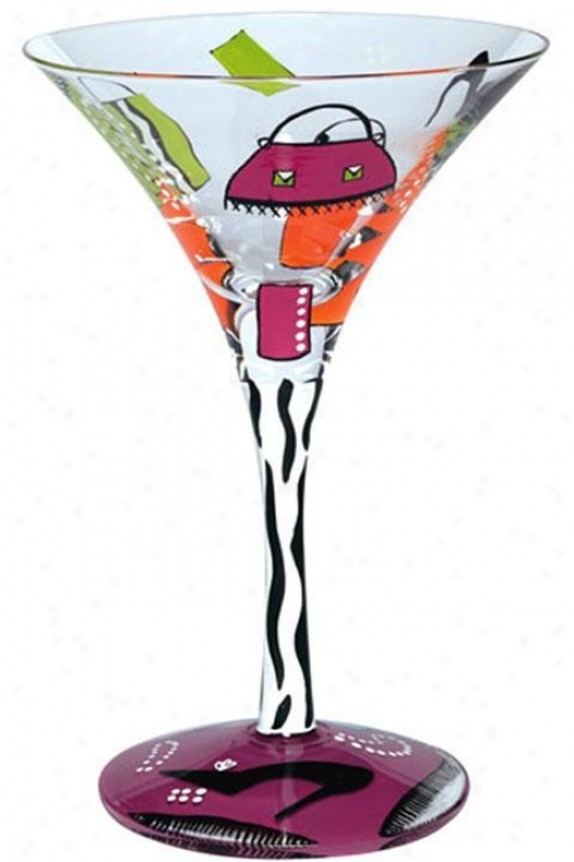 Shopajolic Too Theme Martini Glass - One Size, Shopaholic Too