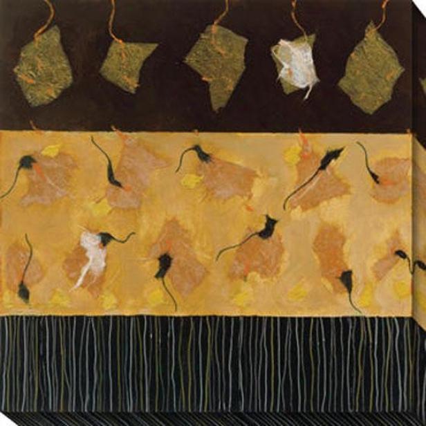 Sonnet Ii Canvas Wall Art - Ii, Black