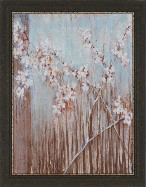 """""""spring Blossoms Wall Art - 46""""""""hx36""""""""wx2""""""""d, Blue"""""""