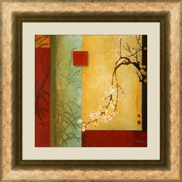 """""""spring Chorus Framed Wall Art - 28""""""""hx28""""""""w, Trnd Gld/brz Fm"""""""