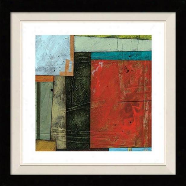Spring Intention Ii Framed Wall Art - Ii, Floated Blcak