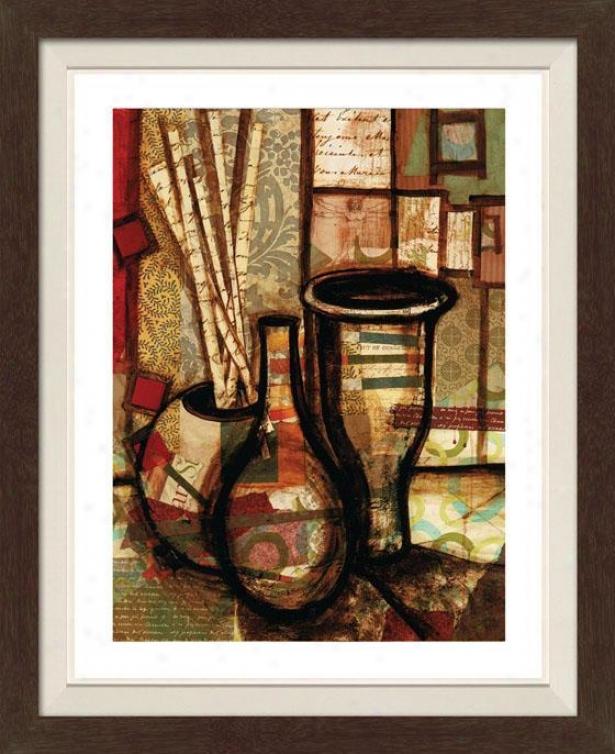 Still Michelangelo I Framed Wall Art - I, Fltd Espresso
