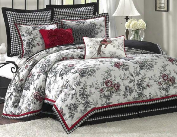 Summerield Ii Comforter Set - Queen 9pc Set, Happy