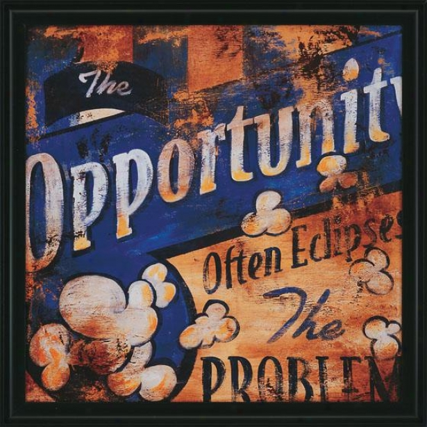 """the Opportunity Wall Art - 27""""squarex2""""d, Pedantic """