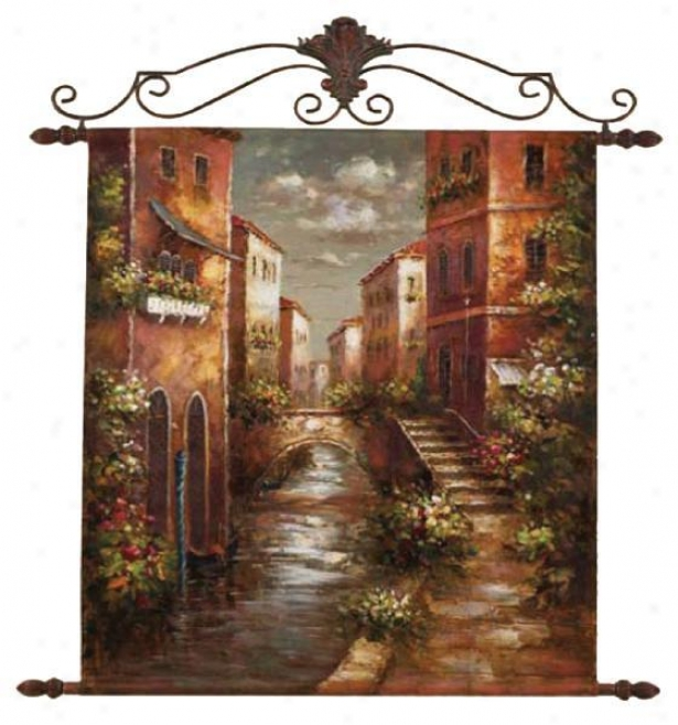 """the Scroll Wall Art - 54""""hx44""""w, Multi"""
