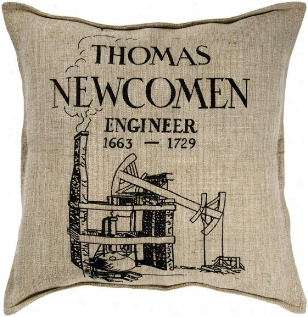 """thomas Decorative Pillow - 18""""x18"""", Ivpry"""