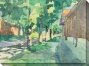 """bekes Walk Canvas Wall Art - 48""""hx36""""w, Flourishing"""