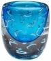 """""""bristol Vase - 7""""""""hx5.5""""""""round, Conalt Blue"""""""