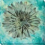 Evoke Iv Canvas Wall Art - Iv, Blue