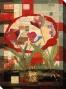 Flowers Ii Canvas Wall Art - Ii, Red