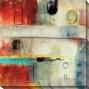 Irrational Response Ii Canvas Wall Art - Ii, Red