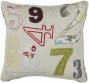 """numeric Pillow - 18"""" Square, Ivory"""