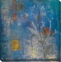Season Ii Canvas Wall Art - Ii, Blue