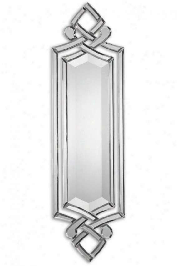 """""""toulouse Mirror - 36hx10wx1""""""""d, Silver/glass"""""""