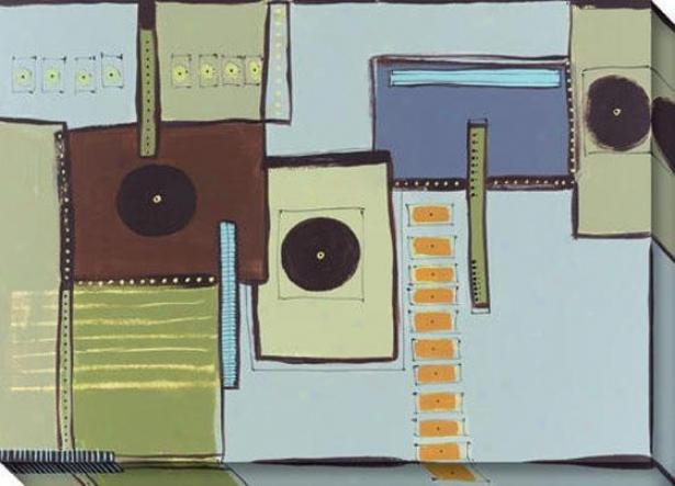 Transference I Canvas Wall Art - I, Pedantic