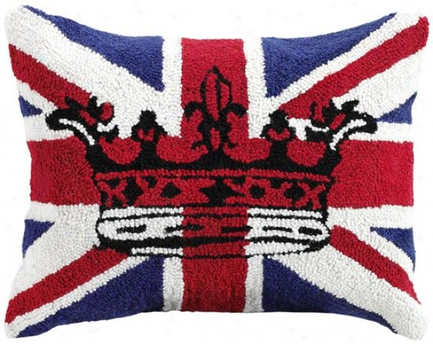 """Confederacy Jack Pillow - 14""""x18"""", Union Jack"""