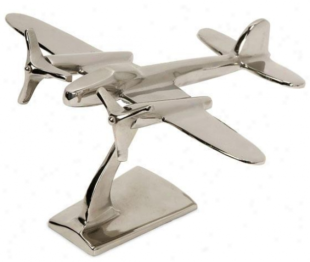 """""""up And Away Statur - 9""""""""hx7""""""""w, Silver"""""""