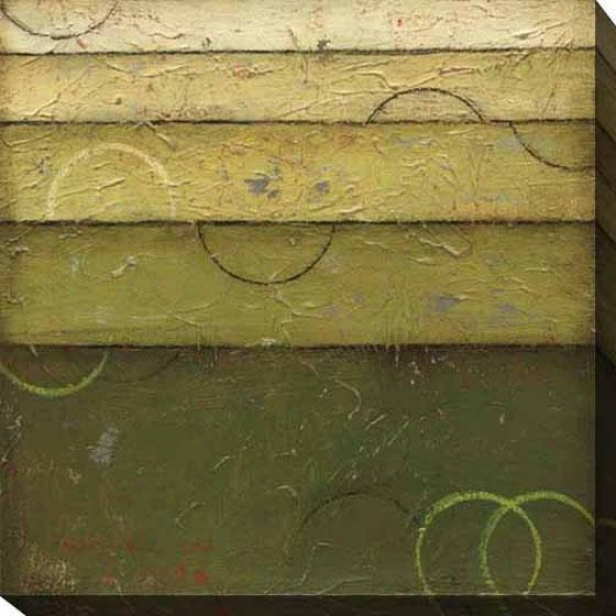 Verdant Spectrum Ii Canvas Wall Art - Ii, Green