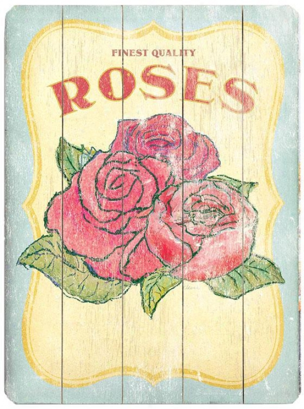 """vintage Seed Packet Woody Sign - 20""""hx14""""w, Pink"""