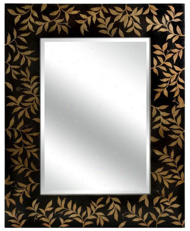 """warren Mirror - 51""""hx39""""w, Brown"""