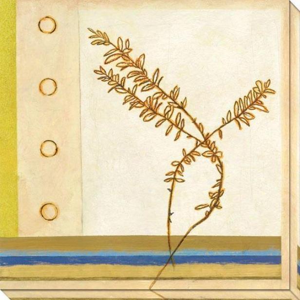 Wild Summer Iii Canvas Wall Art - Iii, White