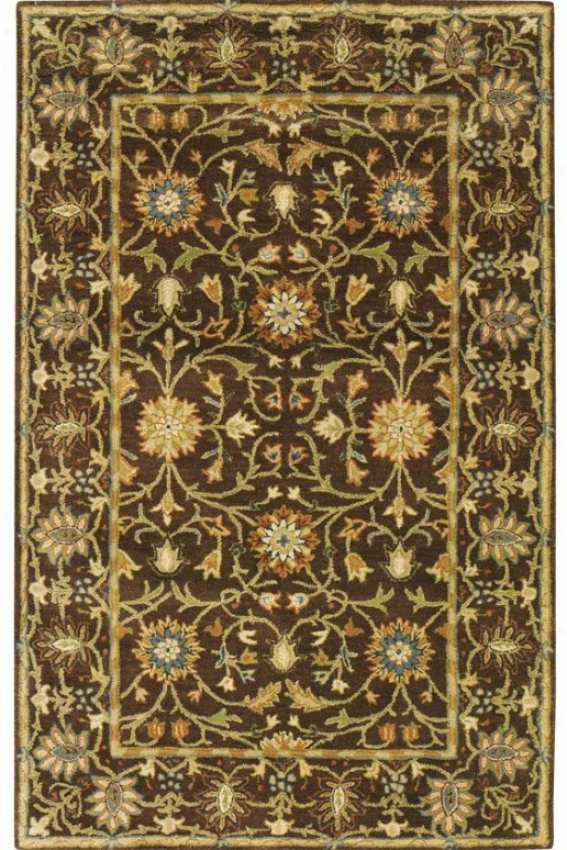 """amboise Ii Superficial contents Rug - 7'6""""x9'6"""", Brown"""