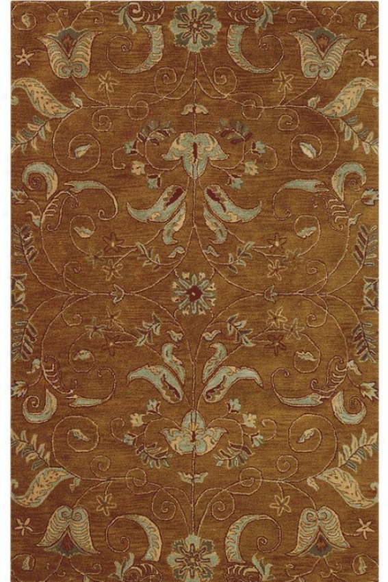 """ansley Area Rug - 5'3""""x8'3"""", Gold"""
