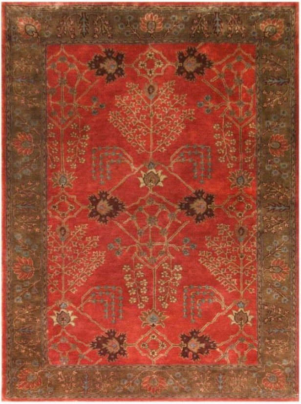 Avon Ii Area Rug - 2'x3', Orange Rust/brn