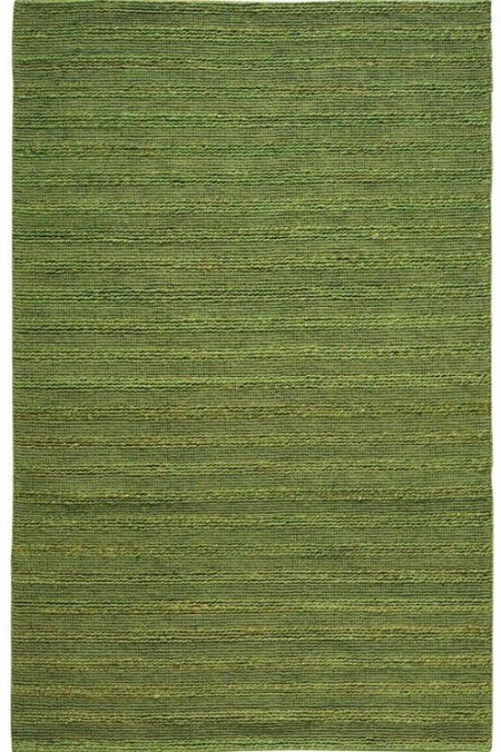 Banded Jute Region Rug - 3'x8' Runner, Green