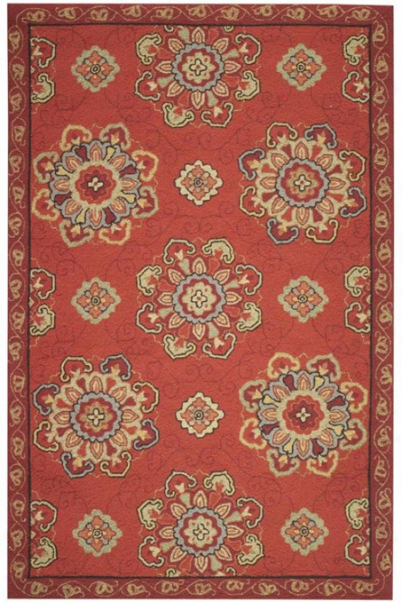 Bianca Area Rug - 2'x3', Red