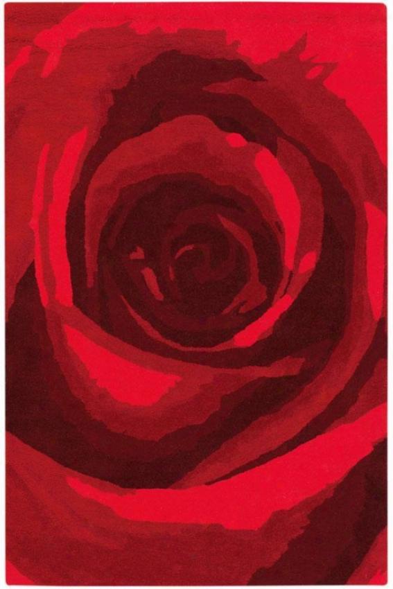 Blossom Rug I - 8'x11',R ed