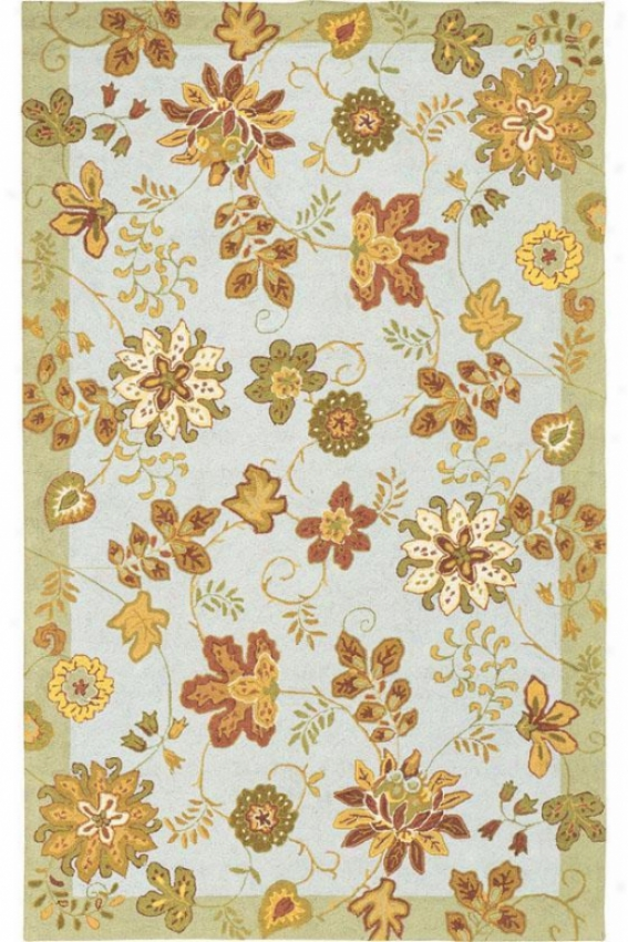 """botany Area Rug - 5'6"""" Move about, Blue"""