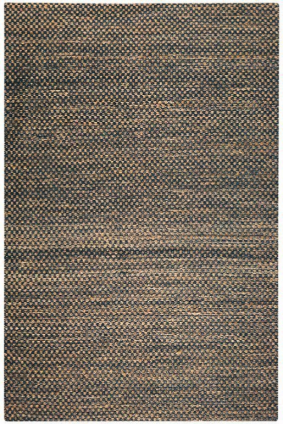 Boxes Chenille Hemp Rug - 12'x15', Blue
