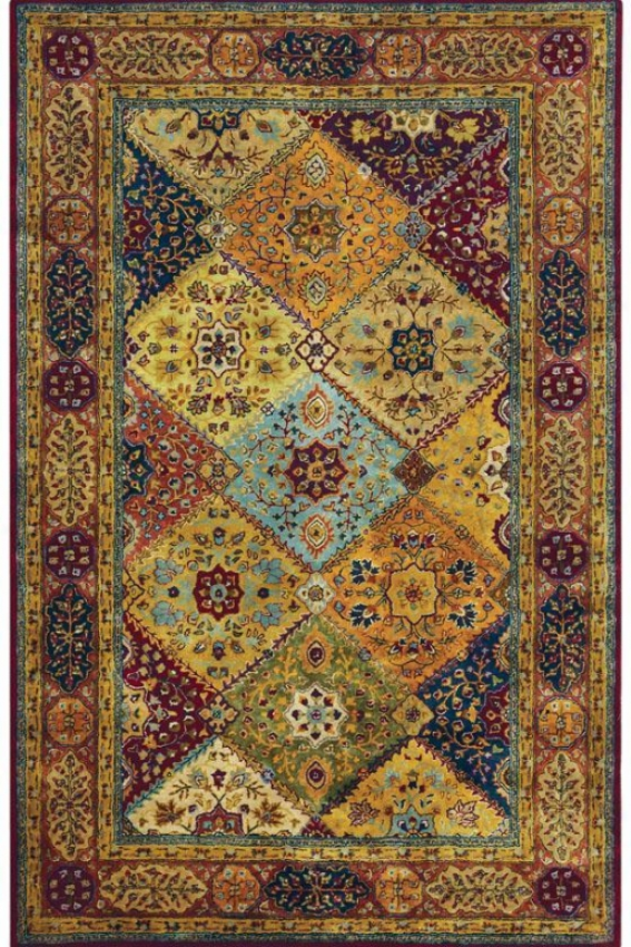 """""""chapel Area Rug - 2'6""""""""x4', Red"""""""