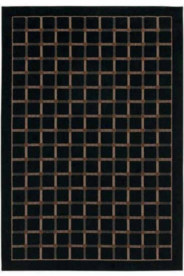 Couristan Marco Island Area Rug - 1'x8', Chocolate Brown