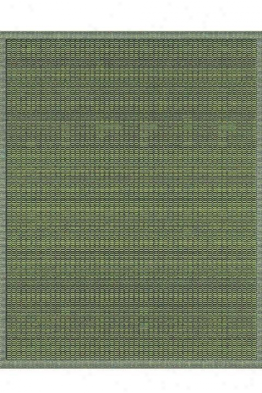 """couristan Saddlestitch All-weather Area Rug - 3'9""""x5'5"""", Green"""