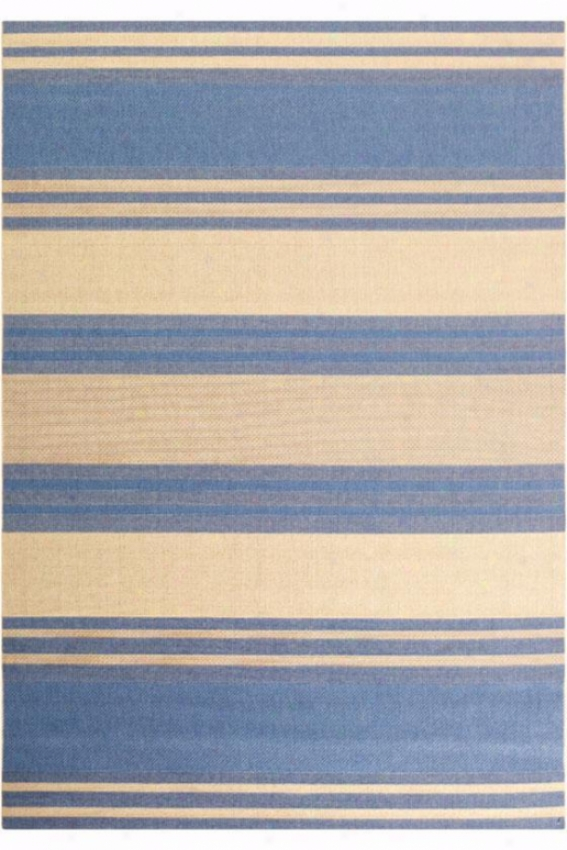 """couristan South Padre Yard Rug - 3'7""""x5'5"""", Blue"""